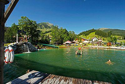 vodní park russbach