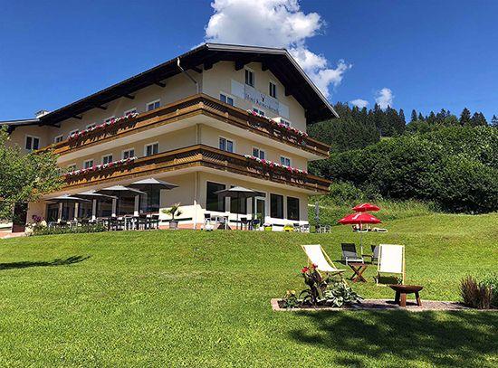 hotel kronenhirsch russbach sommer