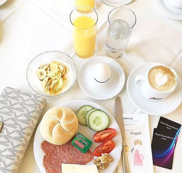 Frühstück Hotel Kronenhirsch