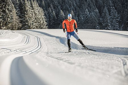 cross country skiing Dachstein West