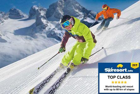 skiing dachstein west