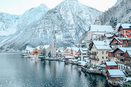 Zimní dovolená na horách Hallstatt