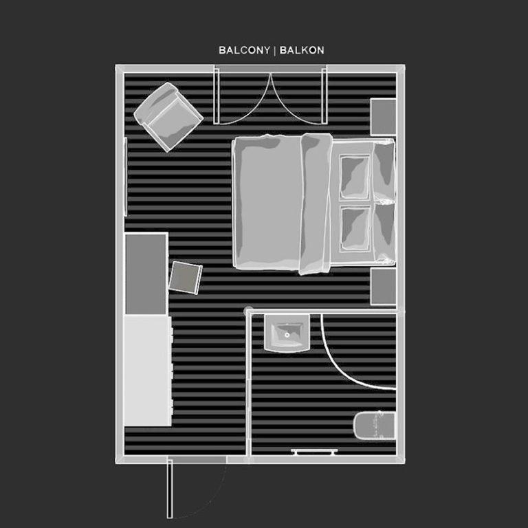 standard room plan